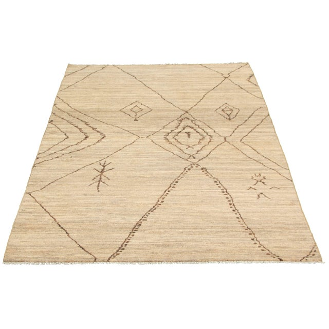 These rugs are inspired by the traditional Moroccan Berber designs. High quality craftsmanship and value for your home....