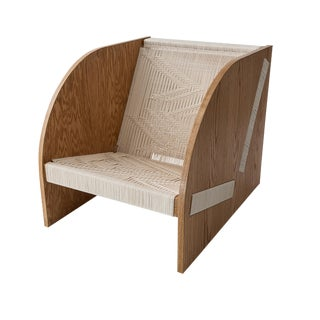 Peg Woodworking Freya Lounge Chair For Sale