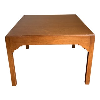 Mid-Century Modern Wright Table Company Cherry Wood Coffee Table For Sale