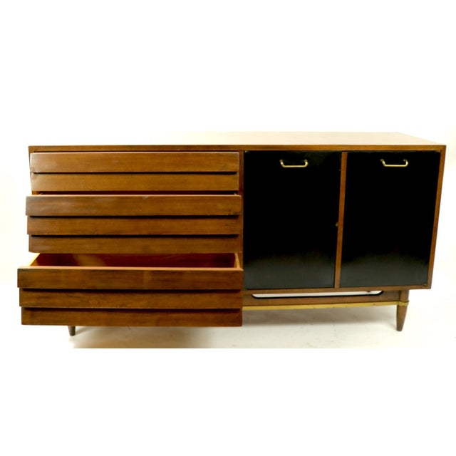 Wood Vintage Merton Gershun for American of Martinsville Diana Dresser For Sale - Image 7 of 12