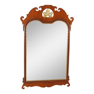 Chippendale Style Wall Mirror For Sale