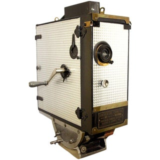 Universal Cinema Camera Built in 1928. Rare Cinema Field Camera. Display As Sculpture.