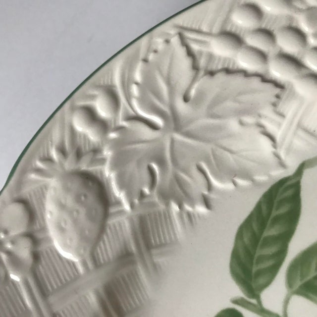 Mikasa Late 20th Century Vintage Mikasa English Countryside Fruit Plates - A Pair For Sale - Image 4 of 10