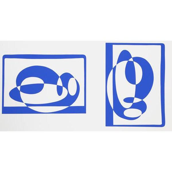 "Josef Albers ""Portfolio 2, Folder 2, Image 2"" Print - Image 1 of 3"
