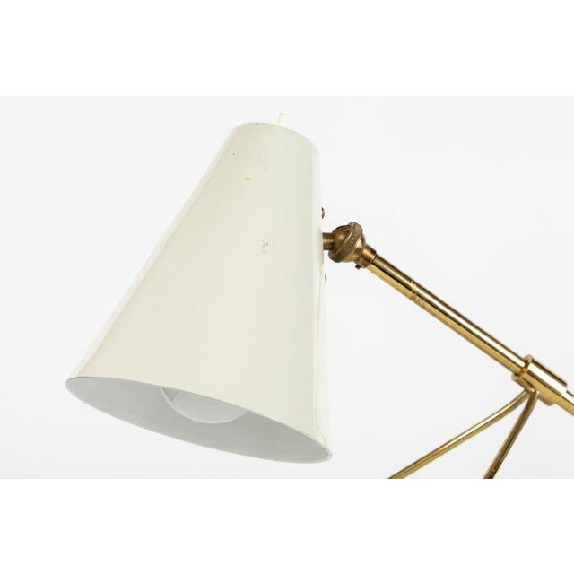 1950s Modern Scandinavian Mauri Almari for Itsu 'Ev-73' Wall or Table Lamp For Sale In Los Angeles - Image 6 of 12