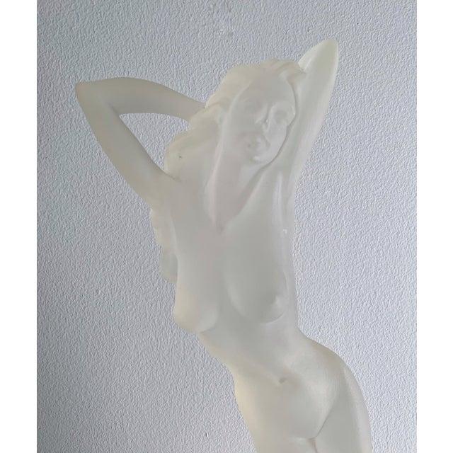Plastic Vintage Lucite Nude Female Sculpture For Sale - Image 7 of 9