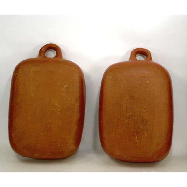 Chilean Red Clay Baking Pans - A Pair - Image 5 of 6