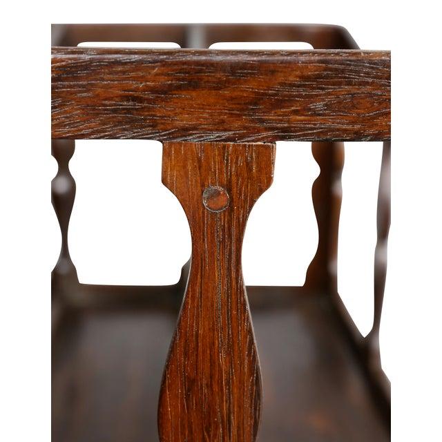 Brown Regency Rosewood Canterbury For Sale - Image 8 of 11