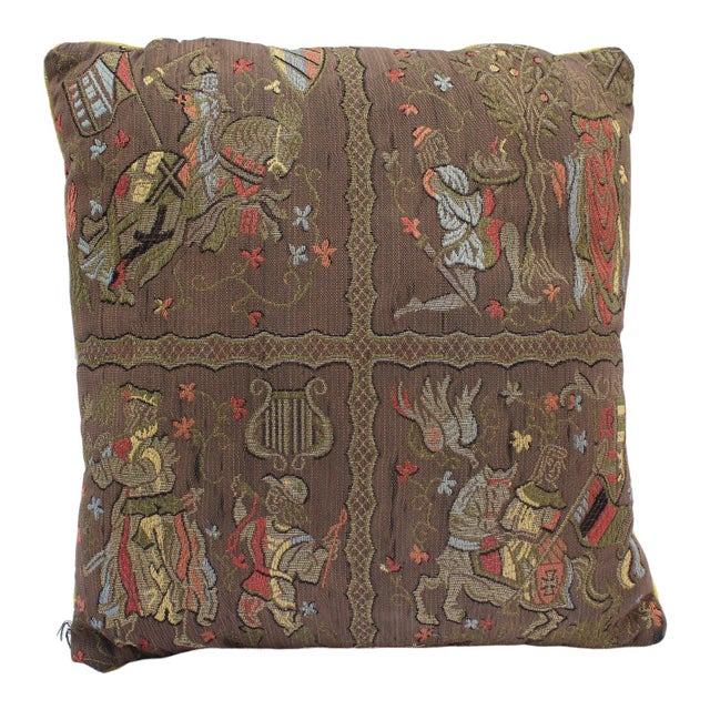 20th Century Renaissance Style Firm Support Pillow For Sale - Image 9 of 9
