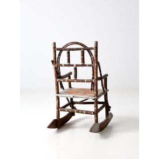 Antique Folk Art Children's Rocking Chair Preview