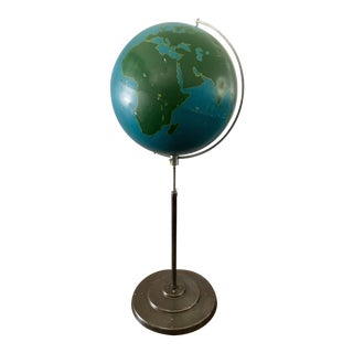 1954 A .J. Nystrom & Co. Graphic Project Globe