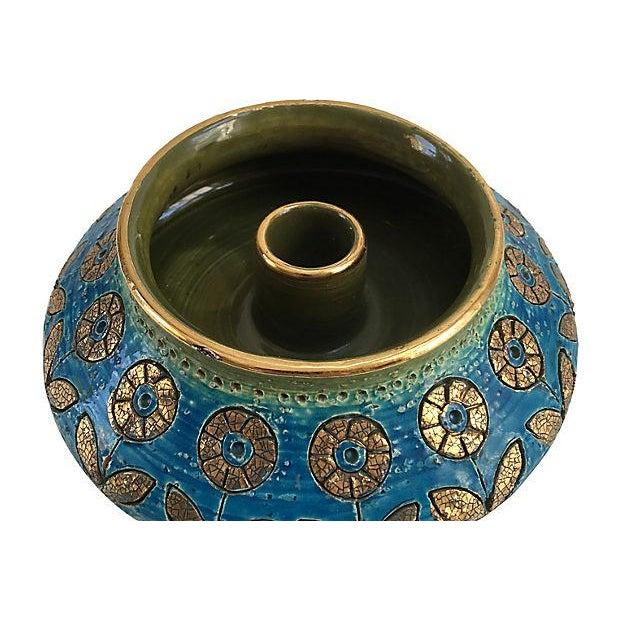 Bitossi Italian Gilt Candleholder - Image 2 of 5
