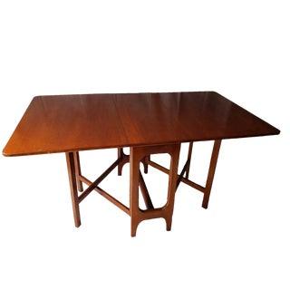 G Plan Mid-Century Modern Teak Drop Leaf Table For Sale