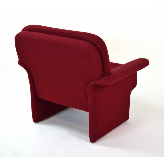 Mid-Century Modern Mid-Century Modern Vladimir Kagan for Preview Armchair and Ottoman For Sale - Image 3 of 5