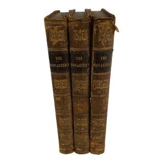 Antique Hardcover Books - Set of 3 For Sale