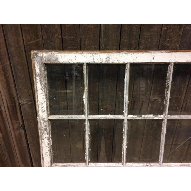 Vintage 24 Pane Wood Window - Image 3 of 11