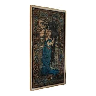 Art Nouveau Painting Circa 1905 For Sale