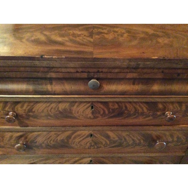 18th Century Antique Writing Cupboard For Sale - Image 9 of 11