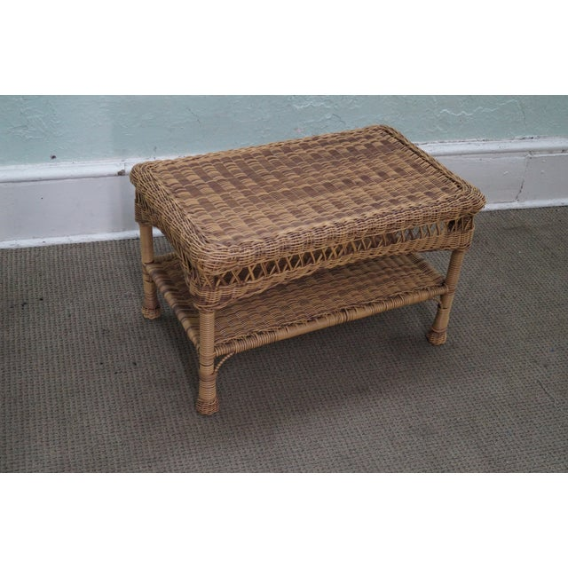 Quality Outdoor Wicker Patio Set - 4 Pieces - Image 6 of 10