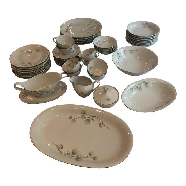 Set of Bavarian Western Germany Pine Bough Dishes - Image 1 of 7