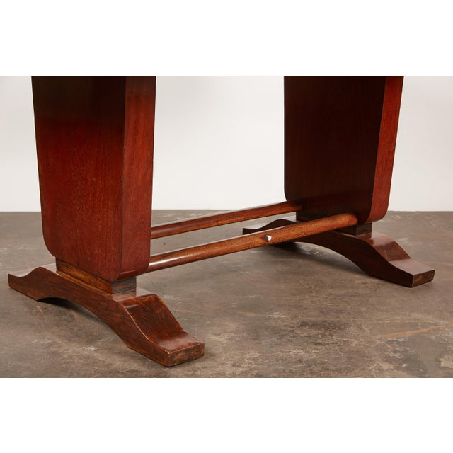 20th Century French Colonial Art Deco Rosewood Desk - Image 6 of 9
