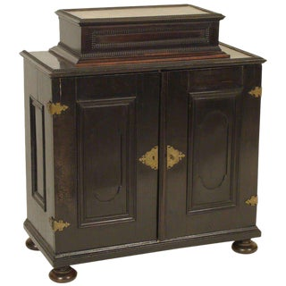 19th Century Baroque Style Table Top Cabinet For Sale