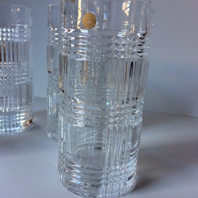 05e4afa3b35c Ralph Lauren Glen Plaid Crystal Highball Glasses - Set of 4 For Sale -  Image 9