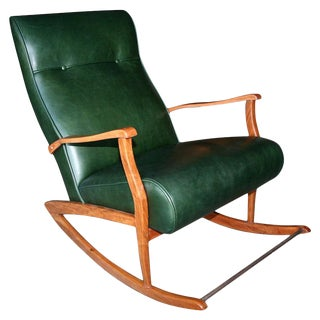 1960's Brazilian Rocking Chair For Sale