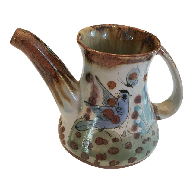 Mexican Vintage Ceramic Pitcher - Image 1 of 5