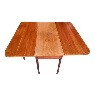 Antique Drop Leaf Dining Table For Sale