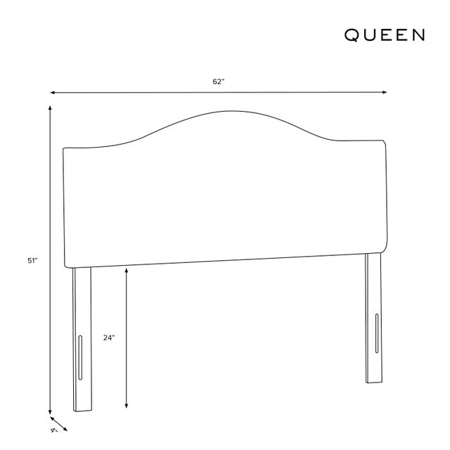 Not Yet Made - Made To Order Queen Headboard, Belize Chinoiserie Cream For Sale - Image 5 of 6