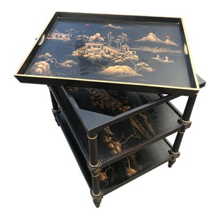 Century Asian Tray Table For Sale