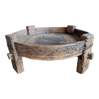 Boho Chic Berber Moroccan Tribal Rice Table For Sale