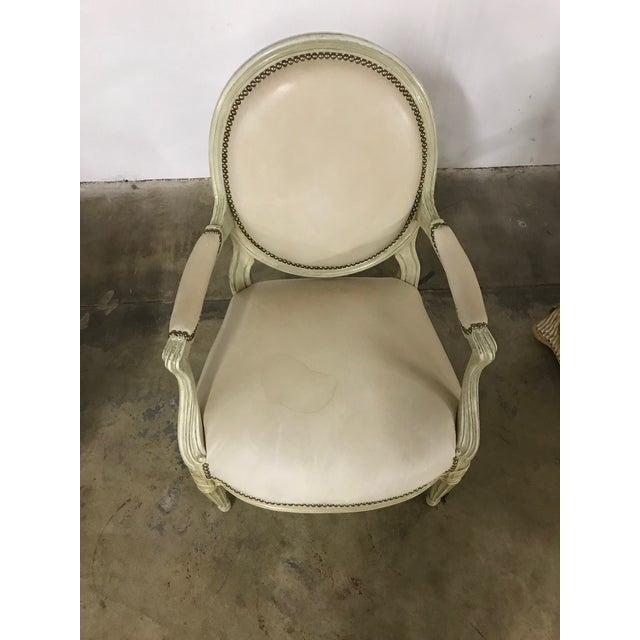 Traditional Vintage Mid Century Side Chair For Sale - Image 3 of 5