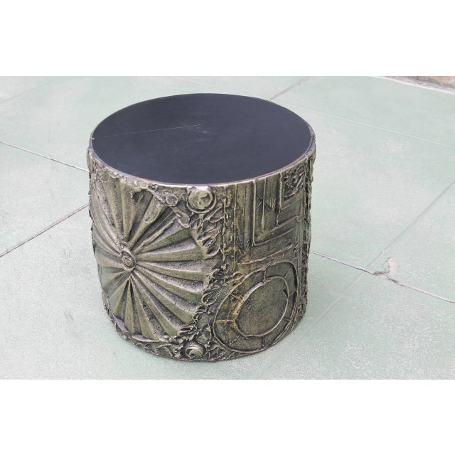 Adrian Pearsall for Craft Associates Brutalist Side Table - Image 4 of 4