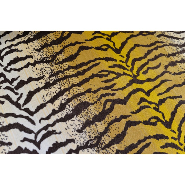 Tiger Silk Velvet Fabric - 1 Yard For Sale - Image 4 of 6