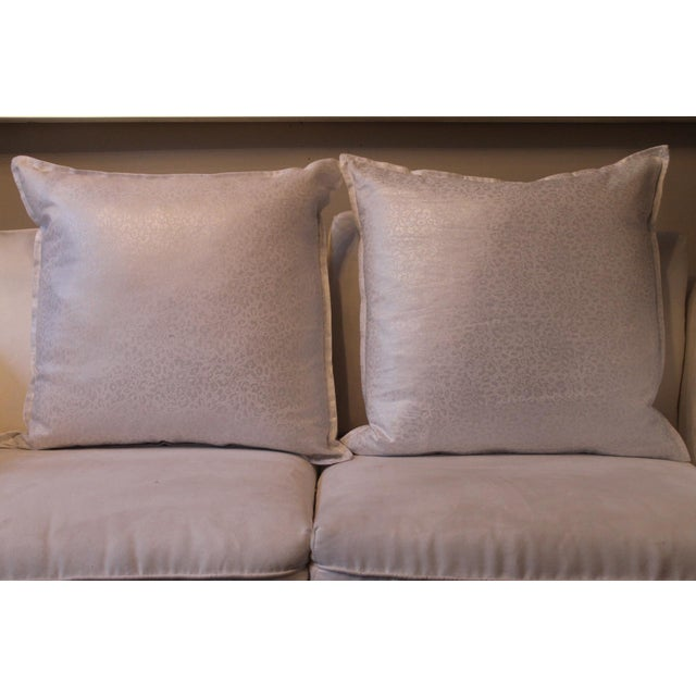 Gold Kravet Couture Metallic Accent Pillows - A Pair For Sale - Image 8 of 8