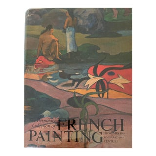 The Hermitage Collection of French Painting Book of Mid 19th Early 20th Century Vintage Book For Sale