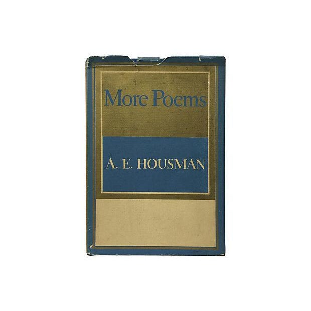 More Poems by A. E. Housman 1936 For Sale