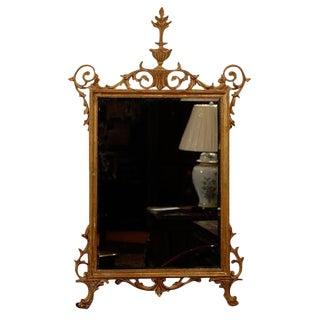 20th Century Sheraton Style Gilt Mirror For Sale