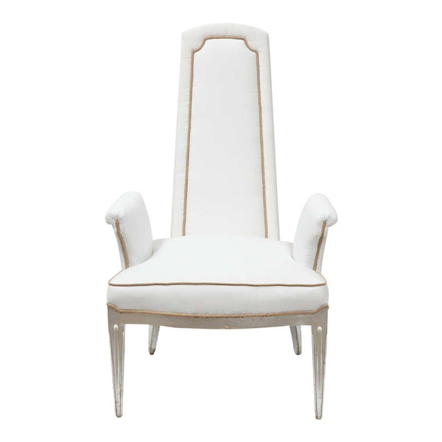 Pair of High Back Armchairs - Image 1 of 9