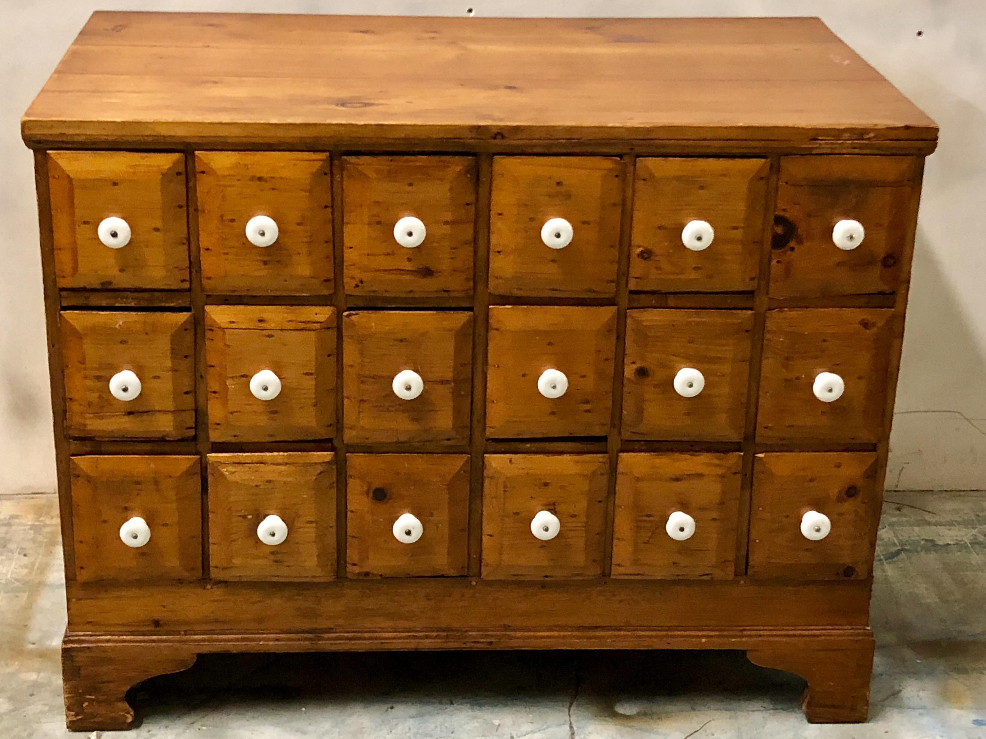 19th Century Apothecary Cabinet For Sale In Atlanta   Image 6 Of 7