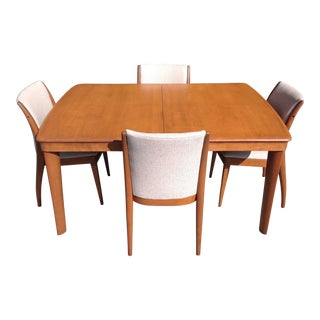 Fully Restored 1950's Dining Set by Heywood Wakefield Co. For Sale