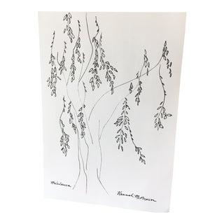 """""""Melaleuca"""" Original Tree Sketch"""