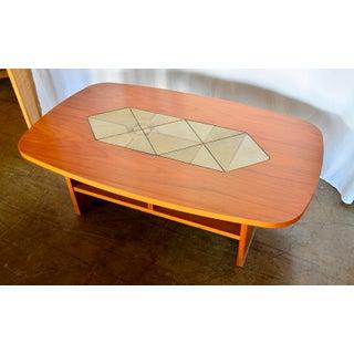 1980s Mid-Century Modern Danish Gangso Teak Tile Coffee Table Preview