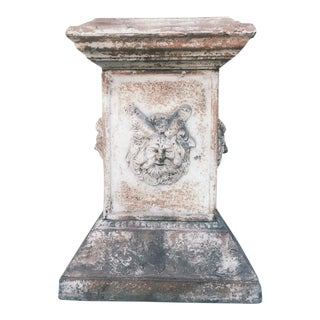 Pan Cast Iron Pedestal For Sale