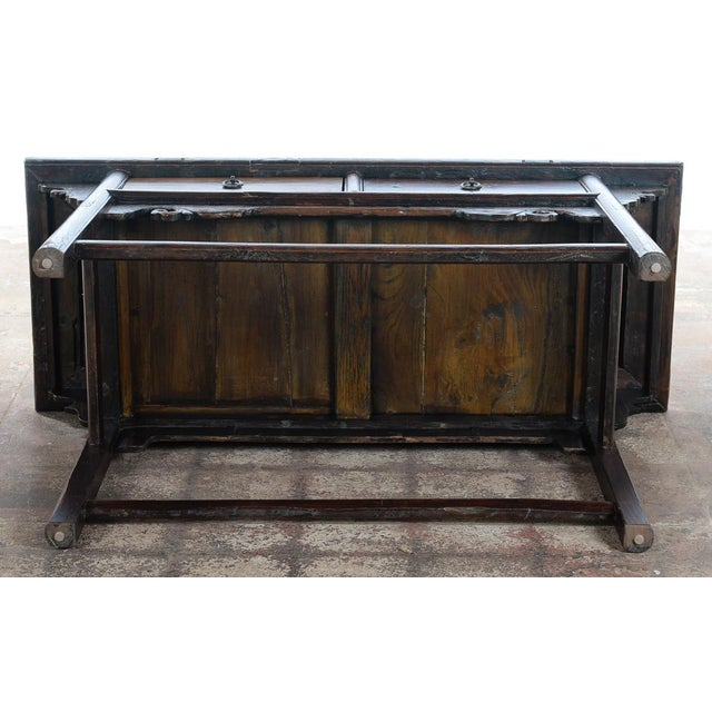 Chinese Antique Wooden Altar Table With Drawers For Sale - Image 10 of 10