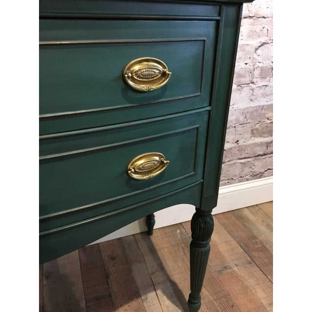Mid-Century Modern Green Buffet Server For Sale - Image 3 of 6