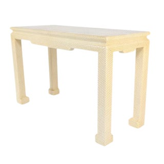KARL SPRINGER CONSOLE TABLE For Sale