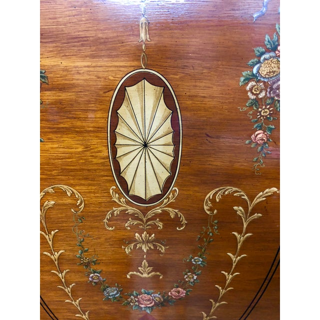 Expressionism Vintage Drexel Heritage French Country Armoire For Sale - Image 3 of 9